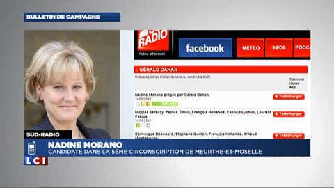 Les propos de Nadine Morano piégée par Gérald Dahan