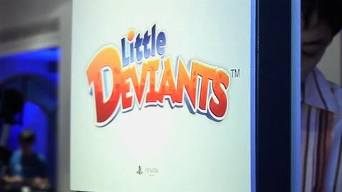 PS Vita : tout sur le jeu Little Deviants