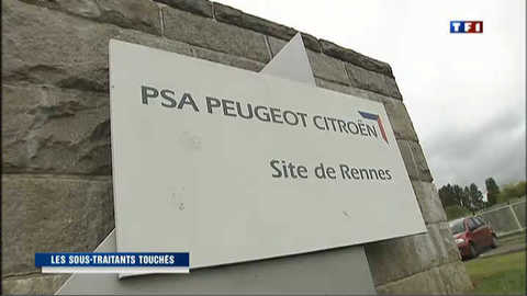 PSA : à Rennes, les sous-traitants impactés