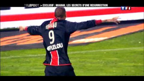 PSG : Hoarau, les dessous d'une résurrection (11/03/2012)