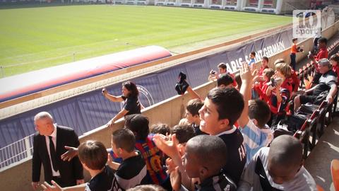 PSG : les jeunes supporters choyés