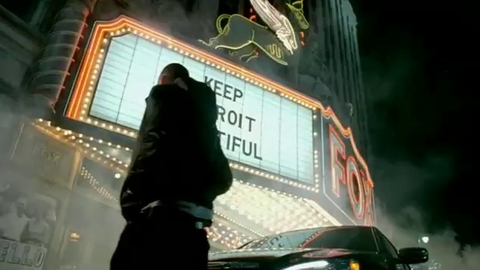 Pub Chrysler avec Eminem à Detroit