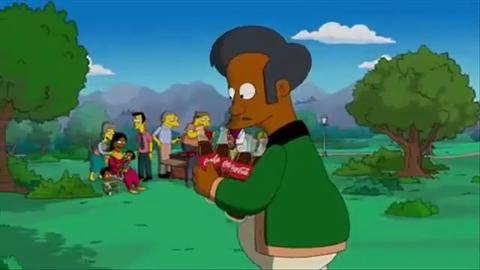 Pub Simpson Coca-Cola pour Super Bowl 2010