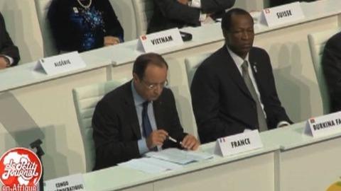 Quand François Hollande méprise Joseph Kabila