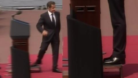 Quand Sarkozy prend de la hauteur