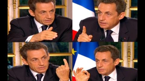 Quand Sarkozy se pose lui-même les questions