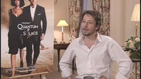 Quantum Of Solace : Itw Mathieu Amalric