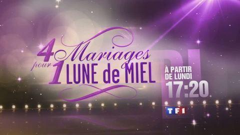 Quatre mariages pour une lune de miel - LUNDI 22 AOÛT 2011 17:25