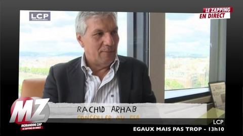 """Rachid Arhab à propos de ses débuts en télé """"on m'a demandé de changer de nom"""""""