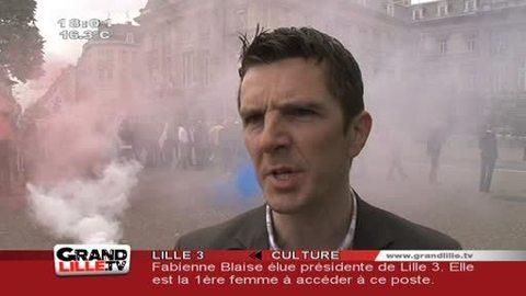 Ras le bol des policiers à Lille !