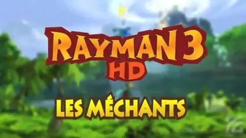 Rayman 3 HD : les méchants en vidéo