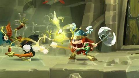 Rayman Legends : le trailer de la gamescom 2012