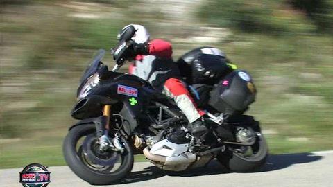 Record mondial : 51 000 km non stop en Ducati Multistrada
