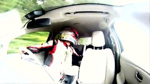 Record de vitesse en marche arrière pour Nissan