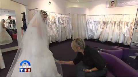 Regard du 13h : la robe, le must de la cérominie de mariage