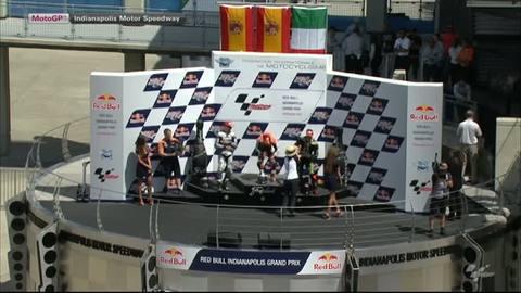 Regardez le podium du Grand Prix d'Indianapolis