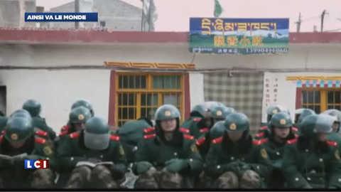 Régions autonomes du Tibet : les images de la présence policière