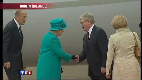 La Reine d'Angleterre en visite en Irlande