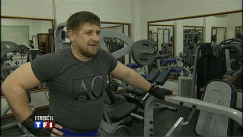 Rencontre avec Ramzan Kadyrov, président tchétchène