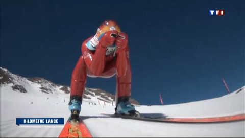 À la rencontre des skieurs à grande vitesse