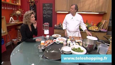 Repas pour 4 à moins de 80 euro - Teleshopping 05-12-2008