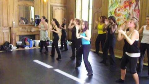 Répétitions Chorégraphie (09/10) - Fin de la chanson