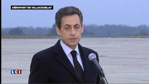Retour d'Edith Bouvier : l'allocution de Sarkozy