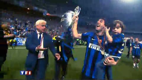 Retour fracassant au sommet du football pour l'Inter Milan