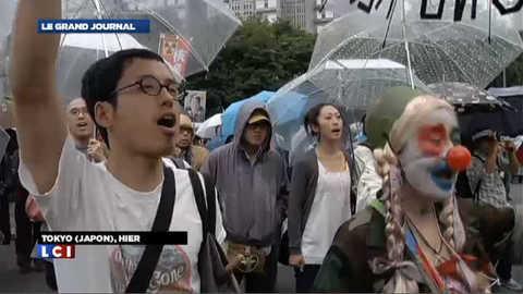 Retour du nucléaire : les Japonais manifestent leur colère