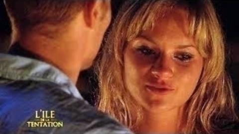 Retrouvailles passionnées pour Mylis et Nathan - Ile de la tentation - 27/08/2008