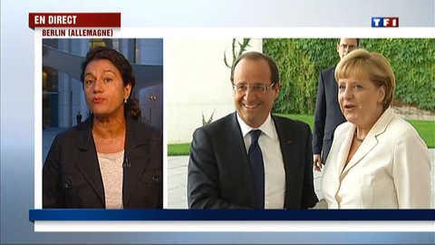Réunion au sommet entre Hollande et Merkel