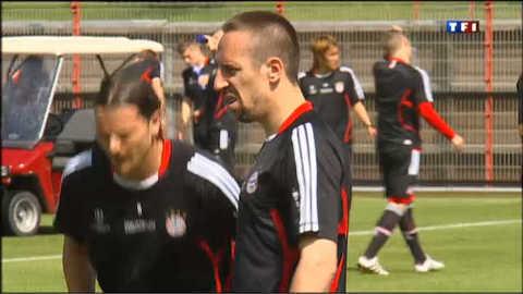 """La """"ribérymania"""" fait des ravages chez les supporters du Bayern"""