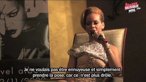 "Rihanna : l'interview sexy ""Rated R"""