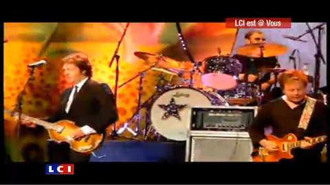 Ringo Starr et Paul McCartney réunis sur scène