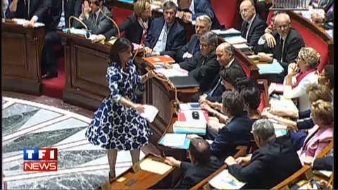 La robe de Cécile Duflot crée l'émoi à l'Assemblée ?