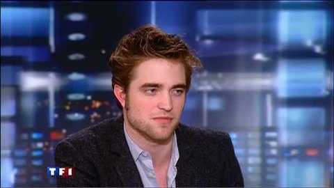 Robert Pattinson invité du 20 heures