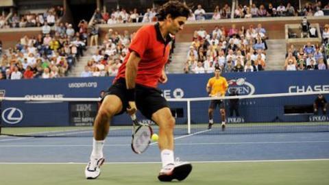 Roger Federer best point in tennis_history. US Open Semi final 2009_HQ