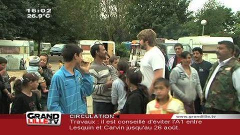 Roms: la tension monte à Villeneuve d'Ascq