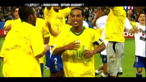 Ronaldinho : vers un retour en seleçao ? (13/03/2011)