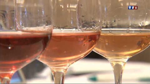 Le rosé entre dans la cour des grands vins