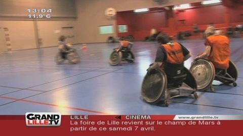 Rugby Fauteuil : Prépa pour les JO Paralympiques 2012