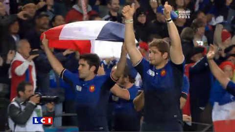 Rugby : le sursaut d'orgueil des Bleus mène la France en demi-finale