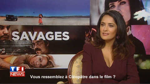 Salma Hayek, inspirée par Cléopâtre ?