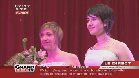 Salon LGBT : Un mariage gay symbolique à Lille !