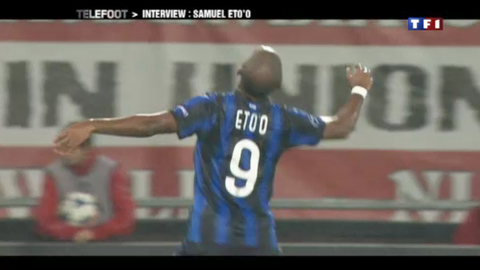 Samuel Eto'o dit tout sur l'Inter Milan et le Cameroun  (06/03/2011)
