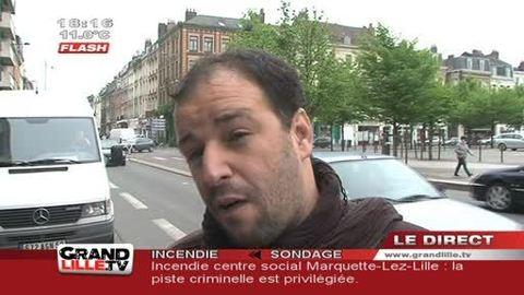 Les Sans Papiers à l'assaut de l'UMP Lille