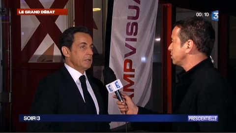 Sarkozy : ce qu'il a pensé du débat