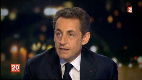 """Sarkozy : """"au début j'avais une réaction de ministre"""""""