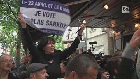 Sarkozy en visite à Châteaurenard