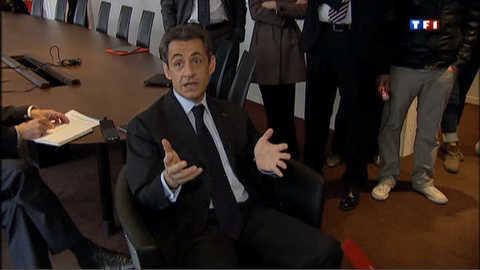"""Sarkozy : """"c'est la règle"""" de laisser sa """"place"""" en sport comme en politique"""